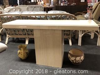 Beautiful Granite Foyer or Sofa Table - Modern