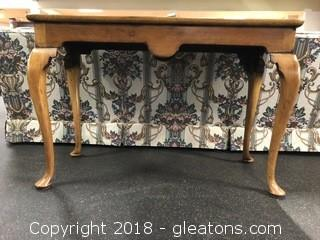 Vintage Maple Sofa Table - Made in England