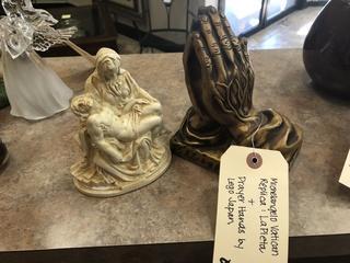 Michelangelo Vatican Replica Lafayette & Prayer Hands by Lego Japan