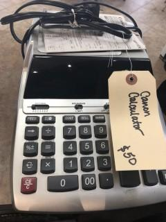 Canon Electric Business Calculator