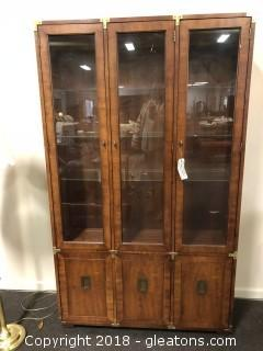 Mid Century China Cabinet by Hickory