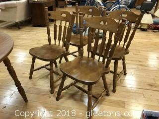 Dining Chairs Solid Wood