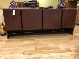 Large TV stand four doors two cabinets