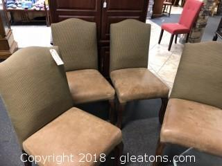 Dining chairs four matching