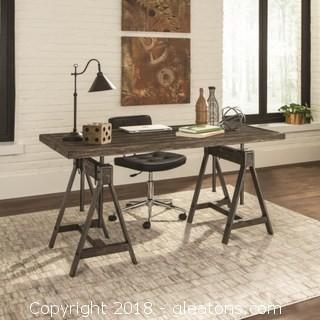 Deponte Industrial Adjustable Writing Desk (NEW)