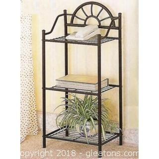 Sunburst Three Shelf Telephone Stand (new)