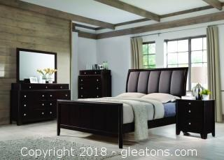 Madison 4 Piece Queen Bed Set (NEW)