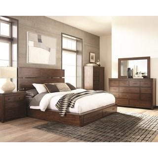 Artesia 4 Piece Queen Platform Bed Set (NEW)