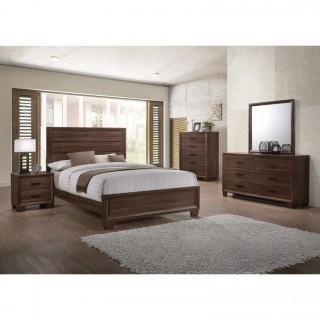 Brandon 4 Piece Rustic Queen Bedroom Set (New)