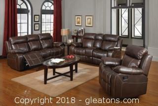 Myleene Motion Sofa w/ Pillow Arms (New)