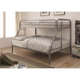 Metal Beds Twin Over Full with Side Ladders (New)