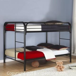 Metal Beds Full Over Full Bunk Bed (new)