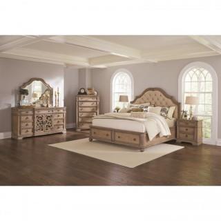 Ilana 4 Piece King Storage Bed Set(New)