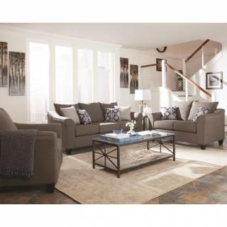 Salizar Grey Sofa with Flared Arms (New)