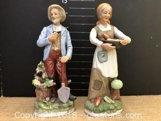 Pair Ardco Figurines