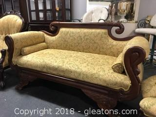 Settee Antique, Original