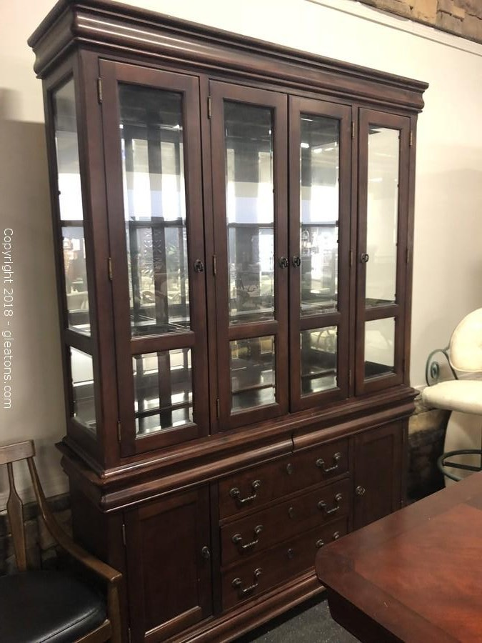 Two Piece China Cabinet ...