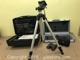 Panasonic YHS Camera Nikon Tripod Binoculars Empty Steel Case
