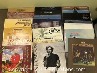 Records, Lot of 22
