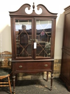 Small Art Deco China Cabinet Gorgeous!