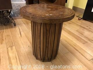 Mid Century Modern Round Side Table