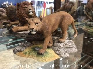 African Lions Wild Life of the Seven Continents by Lenox