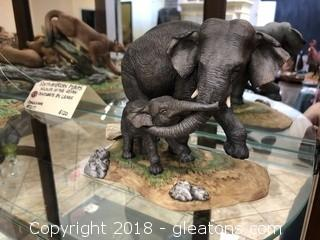 Asian Elephants Wildlife of the Seven Continents by Lenox