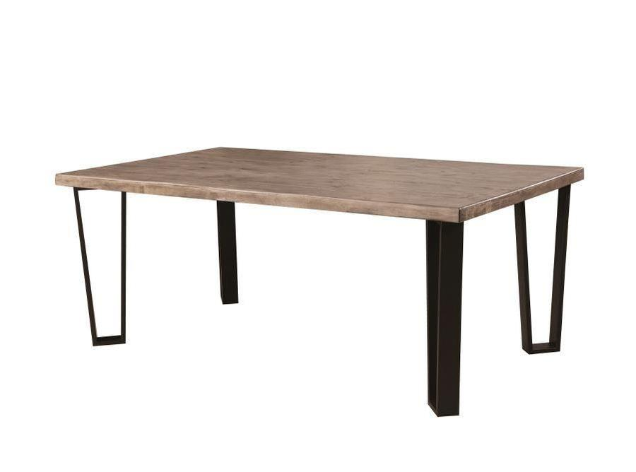 ... Donny Osmond Collection   Poplar U0026 Pine Wood Table With Metal Legs ...