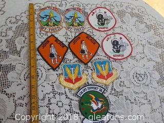 Air Force Military Patches
