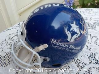 Signed by Local NFL Player Marcus Stroud Mini Helmet