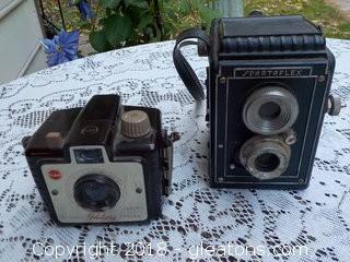 2 Vintage Cameras