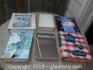 2 Foxfire Books Cookbooks