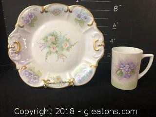 Tirschenreuth Plate and Cup