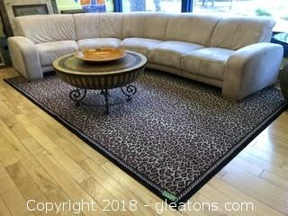 Area Rug Cheetah Print