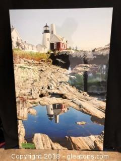 Large Poster Print Lighthouse