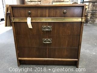 Mid Century Night Stand / Chest  by Hickory Manufacturing - Solid