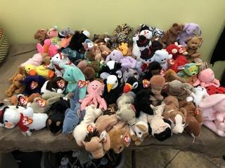Beanie Babies Lot of 73!