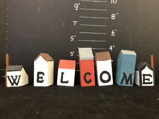 """Welcome"" Wooden Houses Farm House"