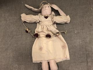 Primitive Angel Bunny