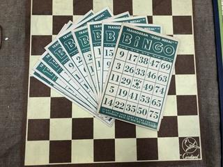 VTG Bingo+Checkers Boards