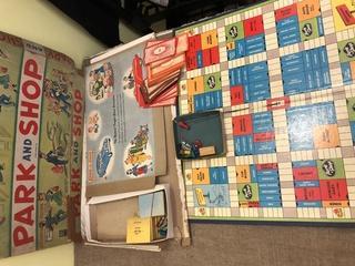 VTG park+Shop Board Game