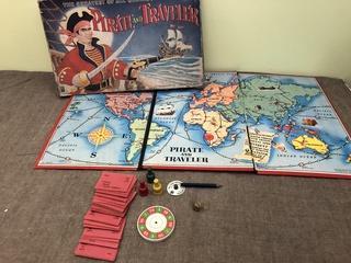 VTG pirate+Traveler Board Game
