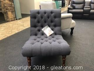 New Tufted Accent Chair without Arms