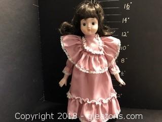 "16"" Doll Pink Dress"