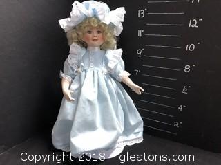 """12"""" Doll Blue Dress"""