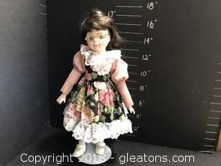 """16"""" Doll with Glasses"""
