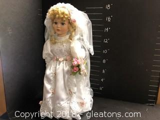 Musical Bride Doll