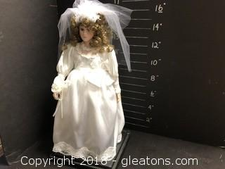 Non-musical Bride Doll