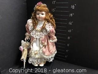 """Seymour Mann Doll """"Allie"""""""