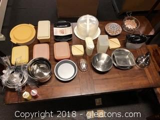 Vintage Kitchen + Tupperware
